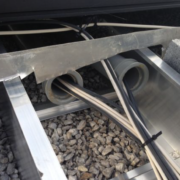 Photo of the Month - Dangerous Cable Tray
