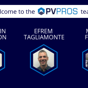 PV Pros New Hires